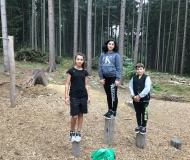 Cvičení v přírodě 2020