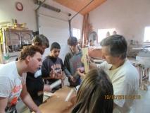 Workshop v truhlárně